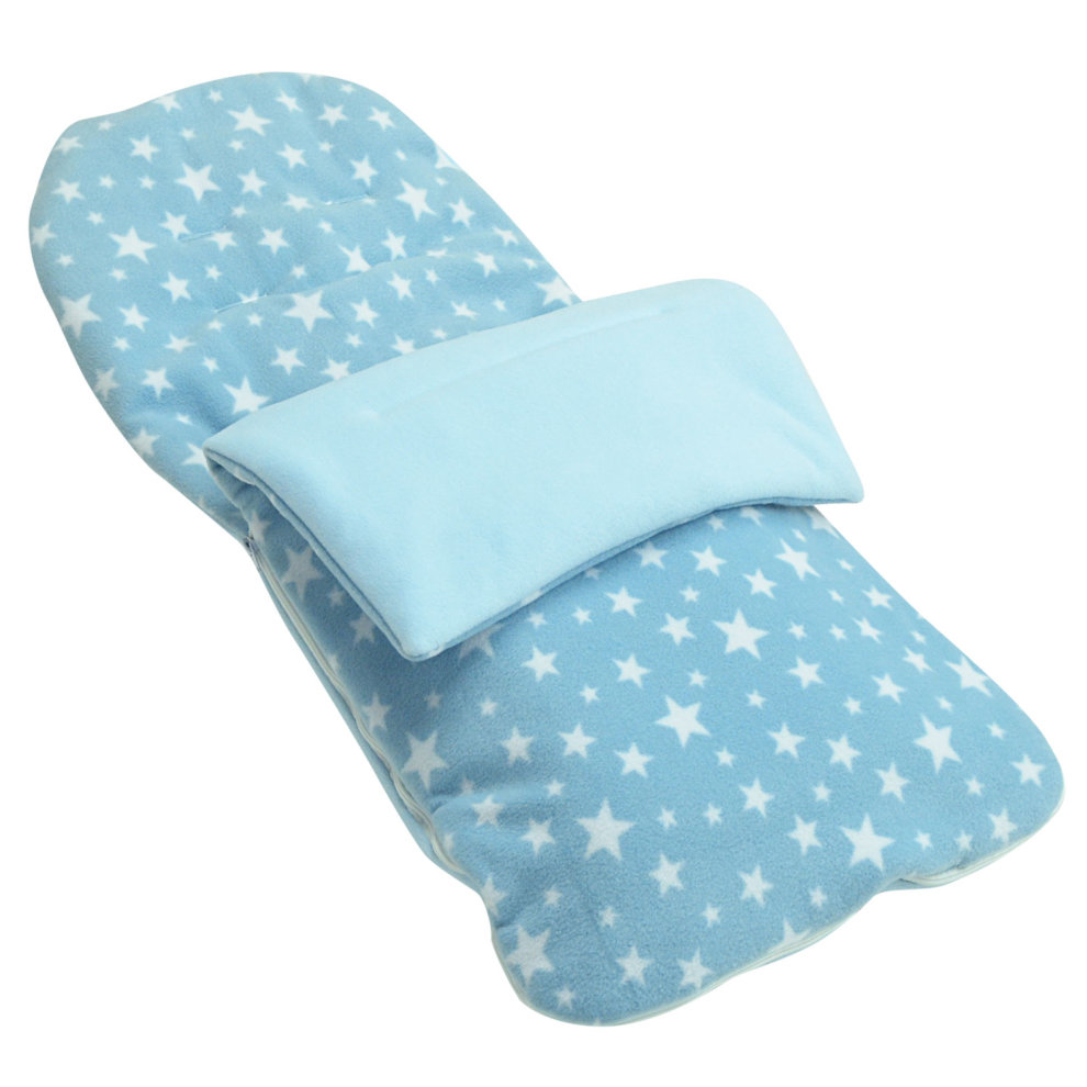 Maxi Cosi Car Seat On Mothercare Xpedior Fleece Footmuff Compatible With Mothercare Orb Light Blue Star