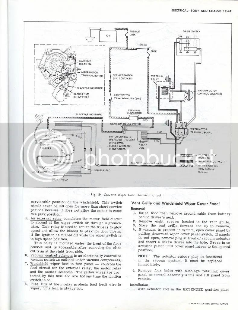 1982 corvette fuse box layout