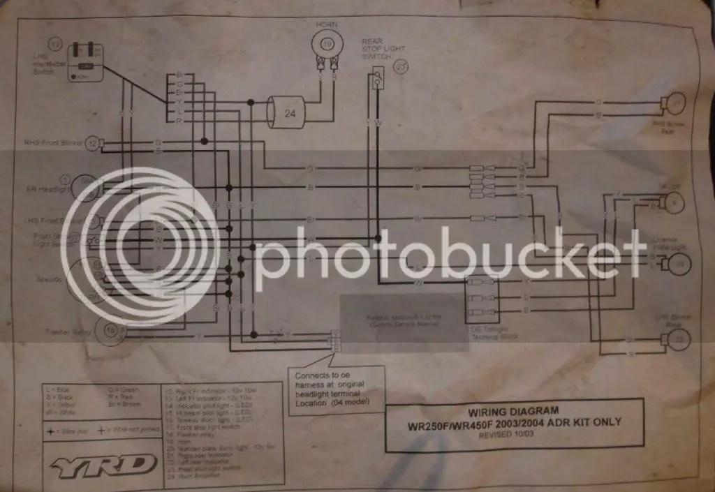 Wr450f Wiring Diagram Wiring Diagram