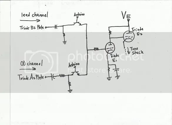 relay switch activated by tone and signal