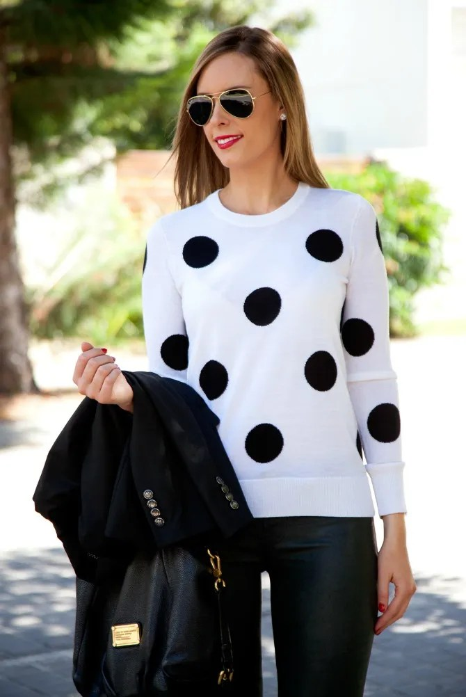 3 zpsf90aa134 Style Sessions Fashion Link Up   Leather Pants and Polka Dots