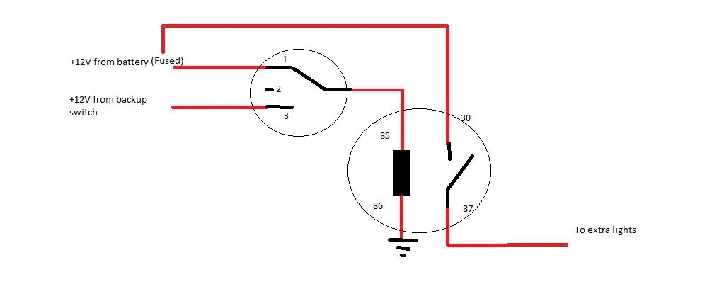 light switch wiring reversed