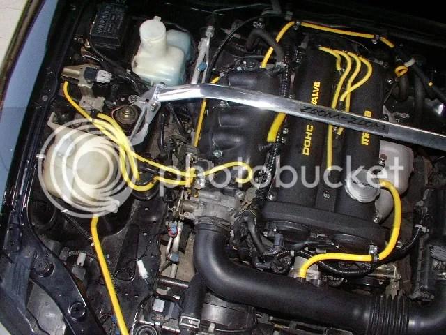 Pic of vacuum hoses please? - MX-5 Miata Forum