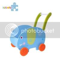 Baby Lauflernhilfe Lauflernwagen Laufwagen Holz ...