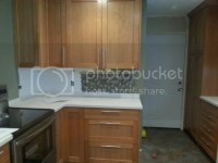 Bar pull placement on cabinet doors