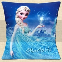 PERSONALISED FROZEN Elsa Stars Night Mountain ADD NAME 16 ...