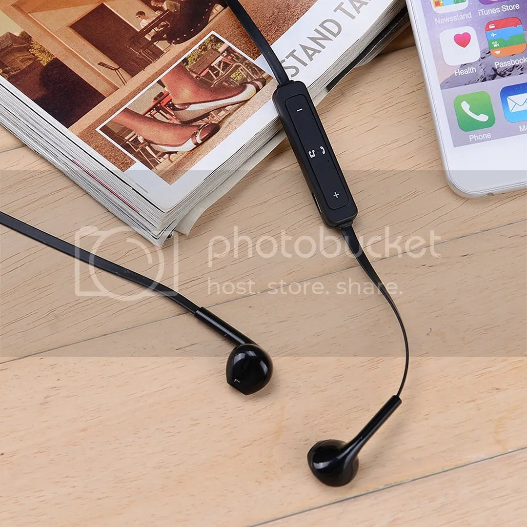Manos Libres S6 Audifonos Bluetooth 4 1 Earphone S6 Manos Libres Negro
