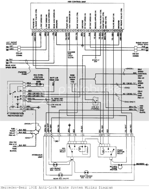 mercedes vito abs wiring diagram