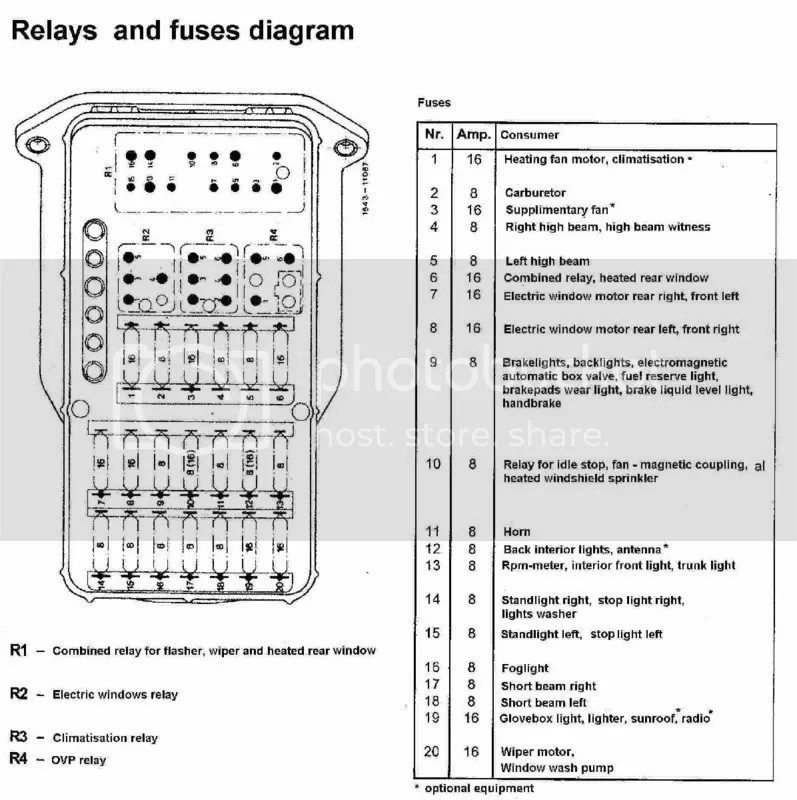Mercedes Benz Fuse Box Diagram Wiring Diagram 2019
