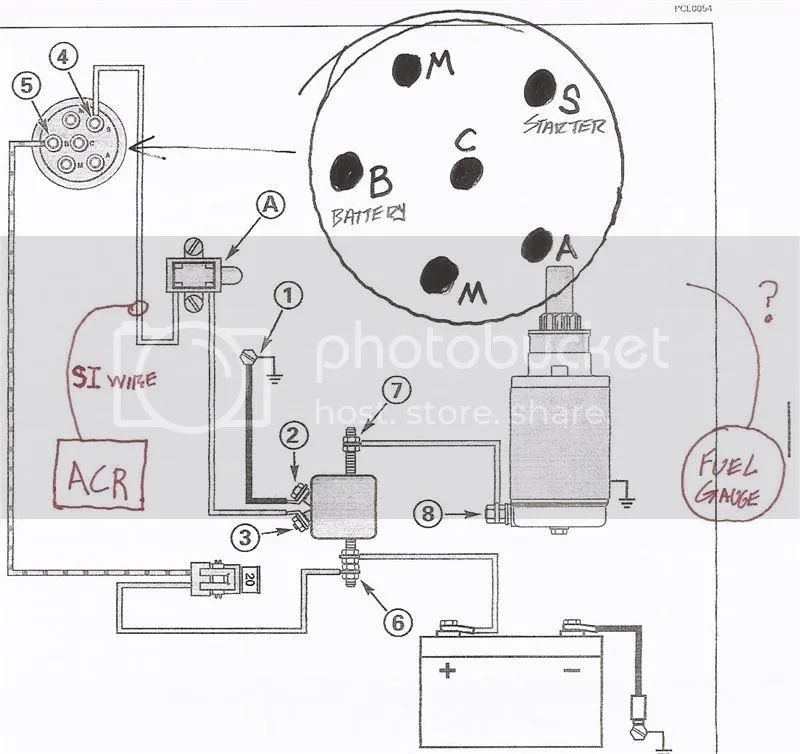 wiring diagram for tracker key switch
