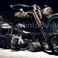 The old Harley-Davidson motorcycle pictures and wallpaper for desktop