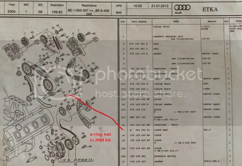 timing chain marks? or how to set cam chain timing? any PDF?