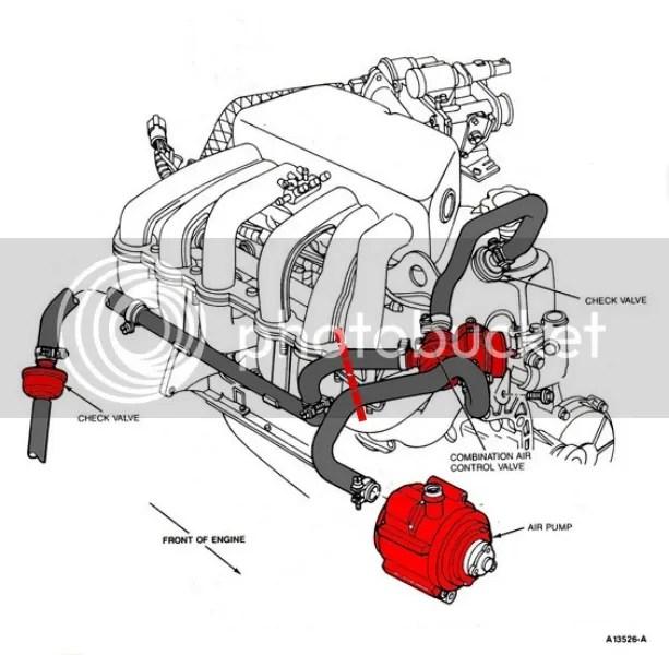 Ford Smog Pump Diagram - Wiring Diagram Write