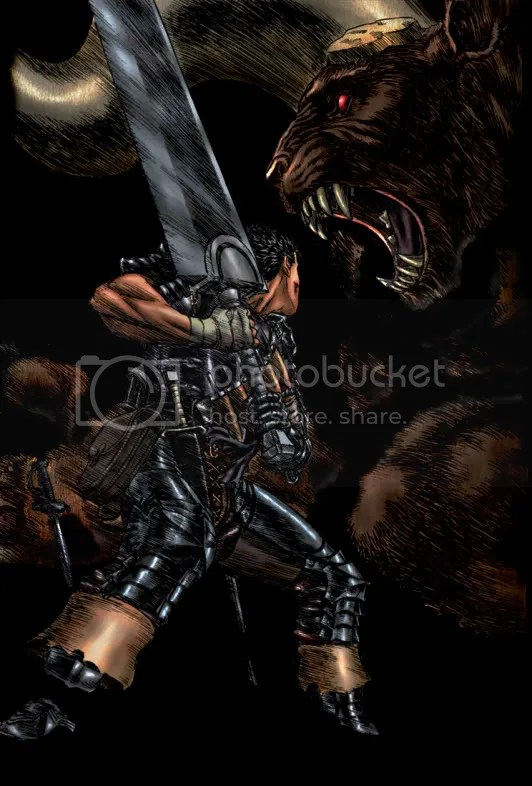 Berserk Guts and Zodd