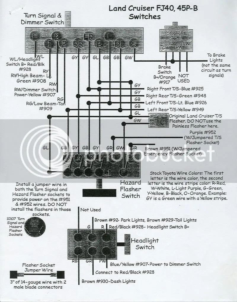 1978 cj7 ez wiring harness