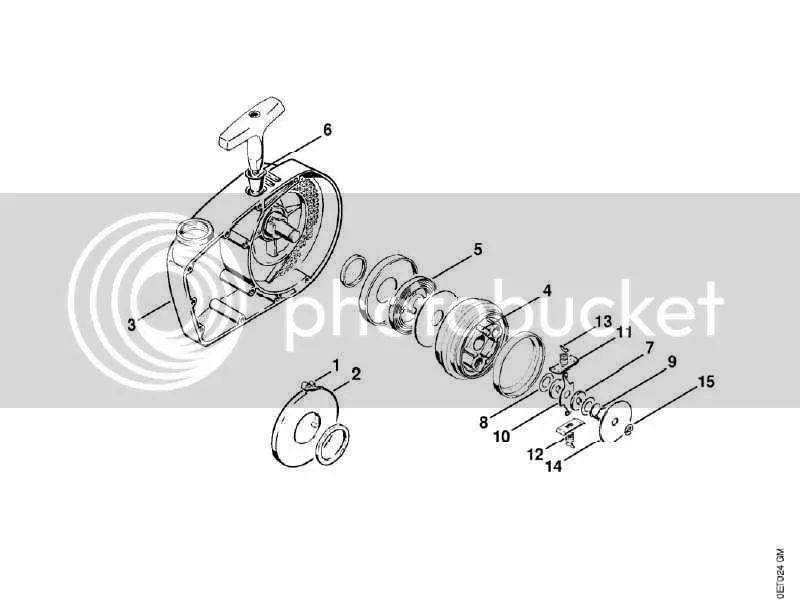 stihl 041 av parts diagram
