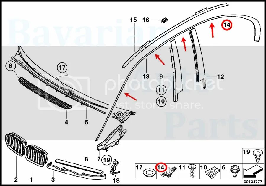 bmw 323i Motor diagram