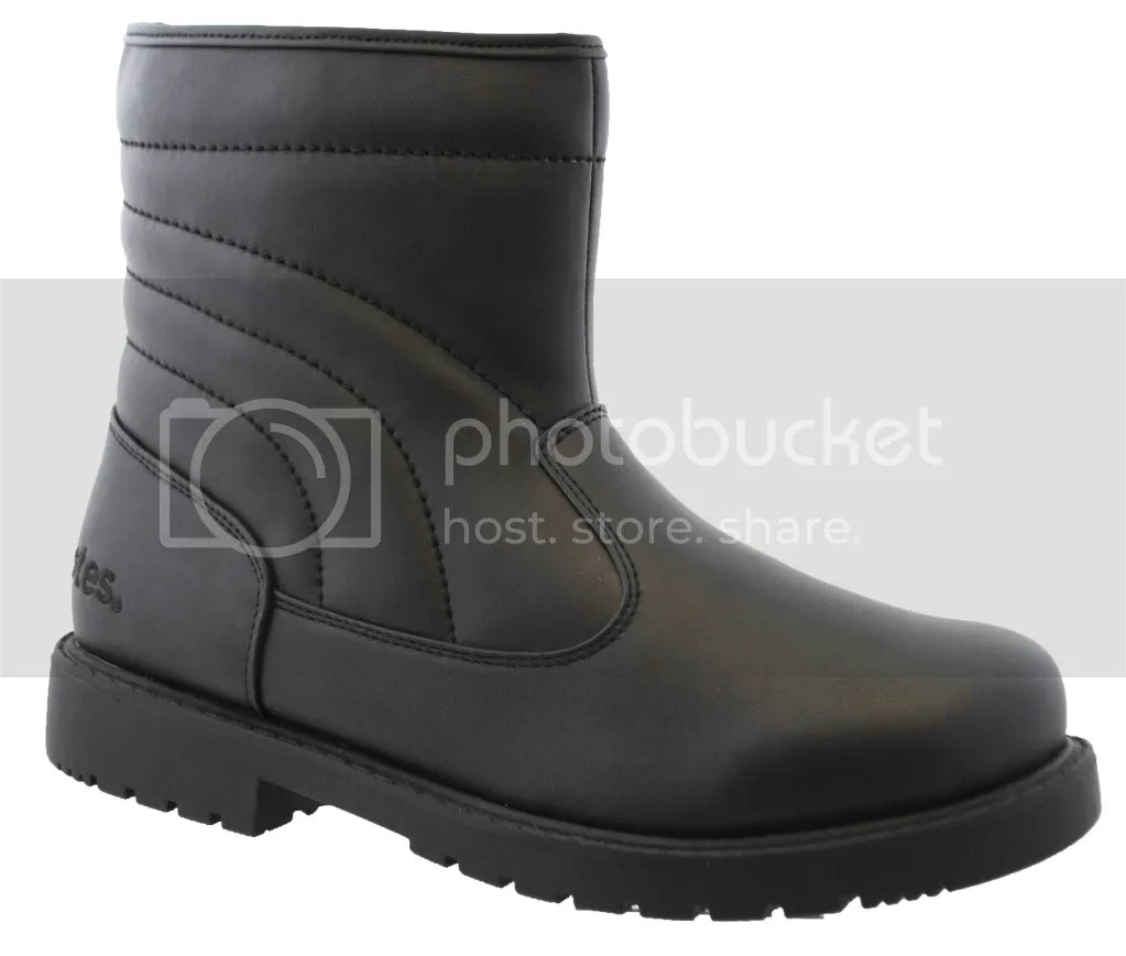 Totes Suburb Mens Black Waterproof Winter Boot Ebay