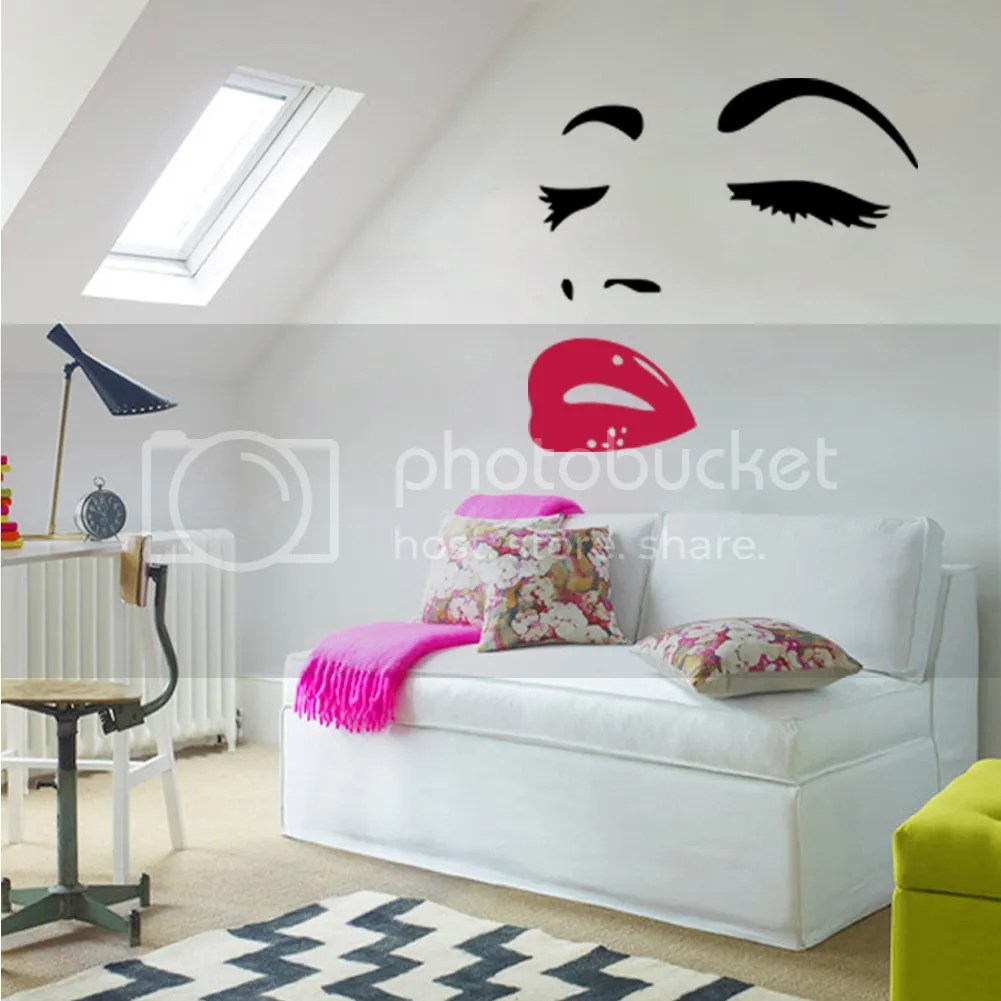 Décoration Murale Vinyle Details About Sexy Mural Decals Marilyn Monroe Wall Decor Bedroom Home Art Quote Sticker Vinyl