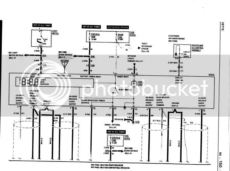 c4 corvette bose wiring diagram