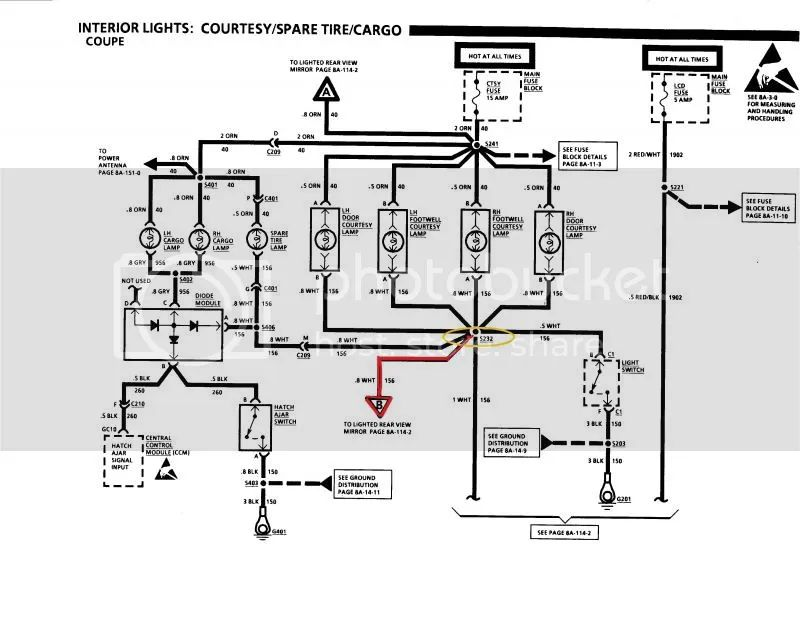 c4 90 corvette wiring diagram