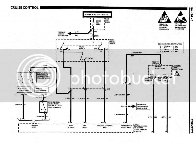 Corvette C4 Schematic Wiring Diagram