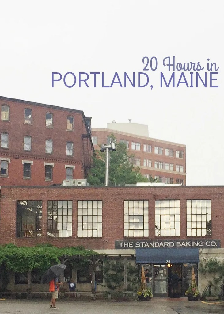 20 hours in portland maine