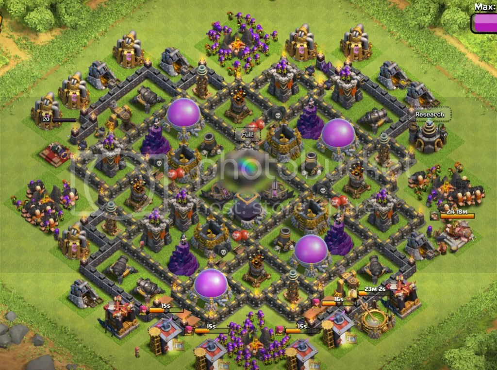 Collection of th 9 hybrid farming base and decorating tips for your