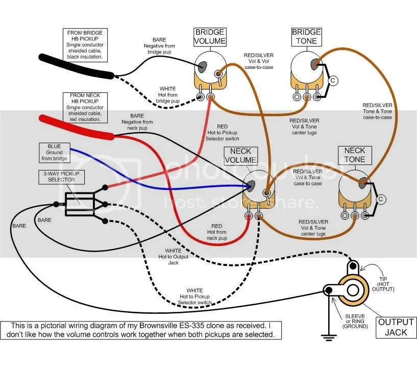 Epiphone Les Paul Wiring Schematic Wiring Diagram