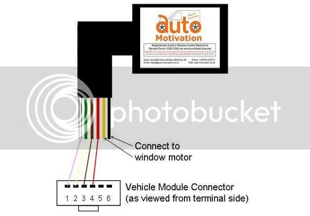 renault window wiring diagram