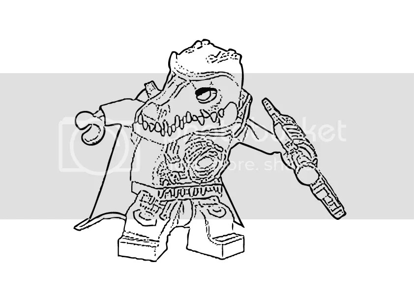 Lego Chima Coloring Pages - Eskayalitim