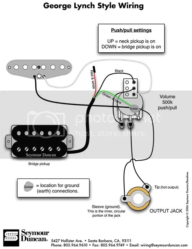 Single Coil Humbucker Wiring Diagram Electronic Schematics collections