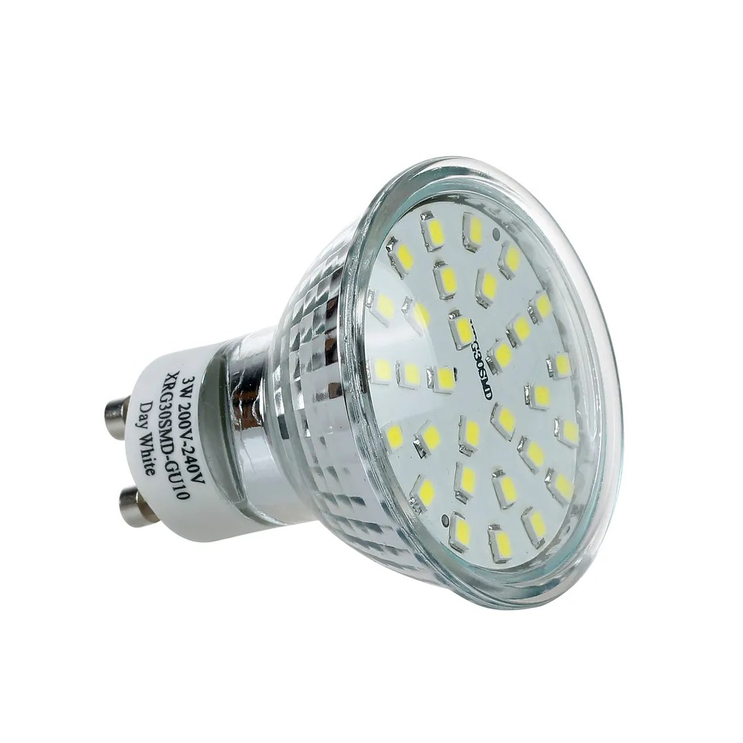Gu10 C 6 12 30 X Gu10 Mr16 Led Bulbs Smd Lamp Spot Light High