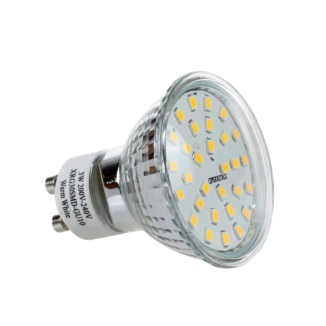 Gu10 Led 6 12 30 X Gu10 Mr16 Led Bulbs Smd Lamp Spot Light High