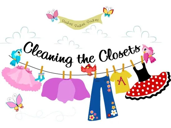 Tada! Creations: Cleaning The Closets {For The Mom'S And One Tada