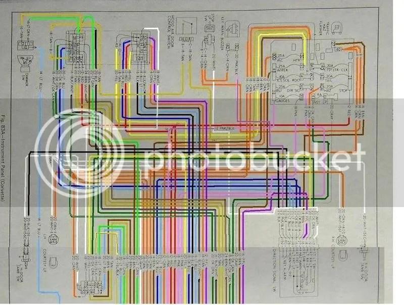 73 Corvette Wiring Diagram Wiring Schematic Diagram