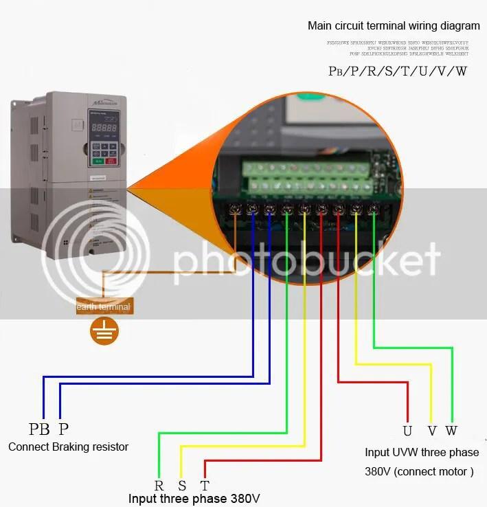 Wiring 3 Phase Motor To Vfd Wiring Diagram