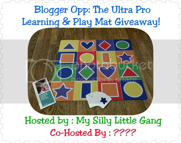 blogger opp learning and play mat giveaway