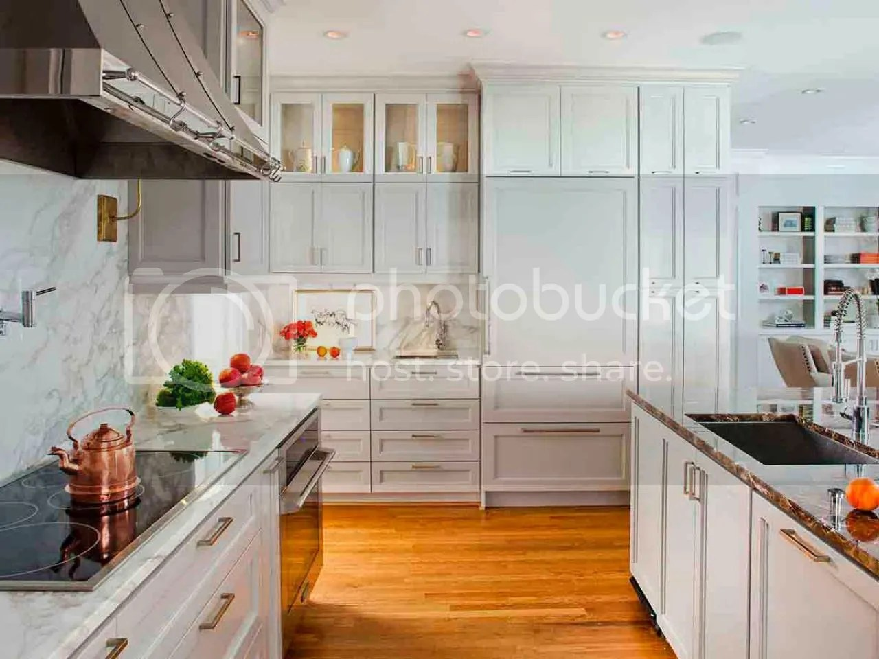 Kitchen Cabinets To Ceiling With Glass Transitional Kitchens Atlantic Plywood Corporation