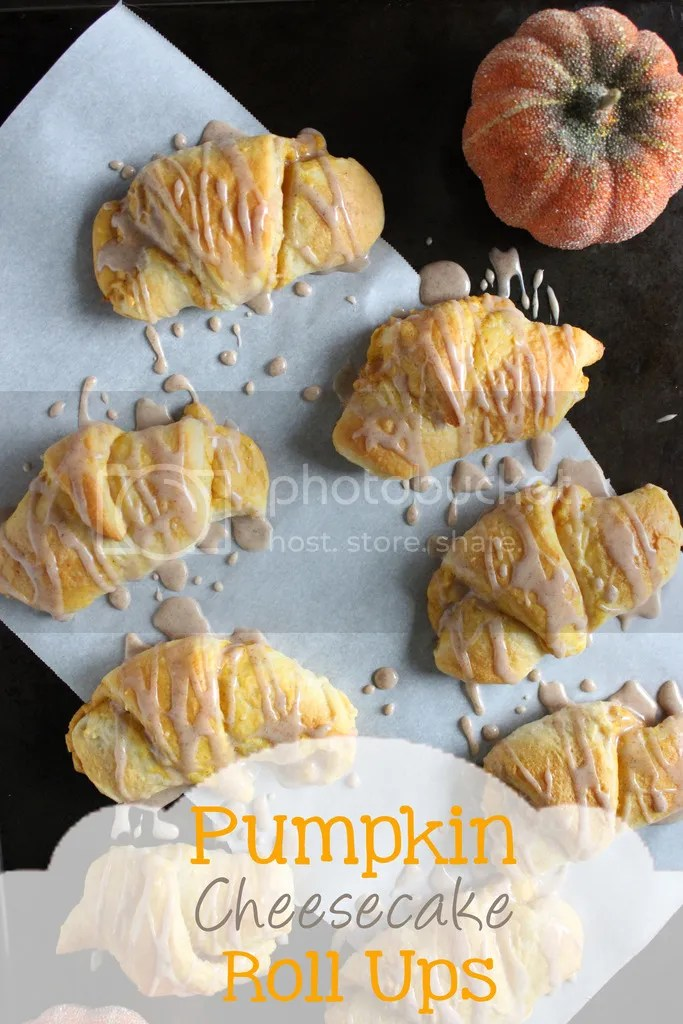 Pumpkin Cheesecake Roll Ups