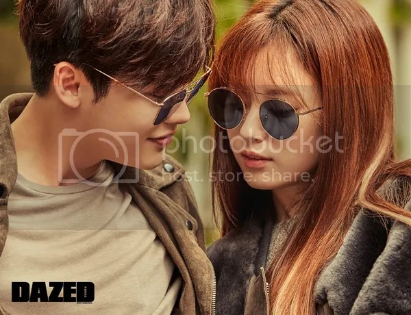 「Lee Jong Suk and Han Hyo Joo for Dazed Korea」の画像検索結果