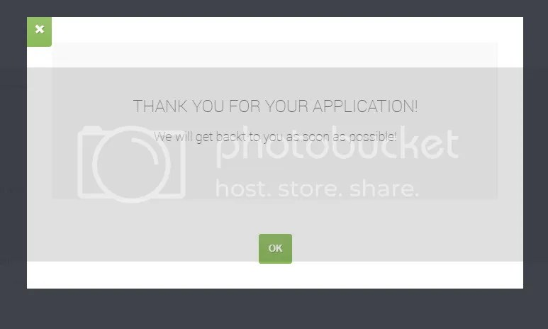 Pop-up Thank you message in custom themes - Forums - Crosstec