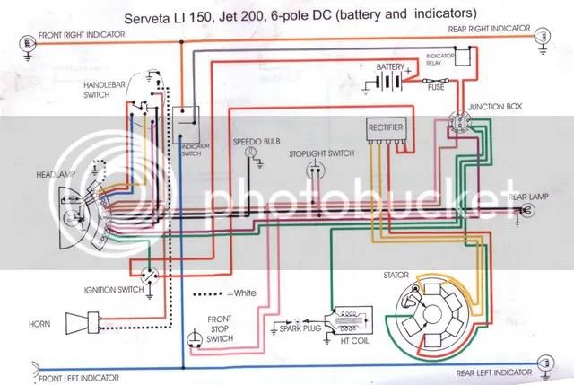 Lambretta Wiring Diagram Wiring Diagram