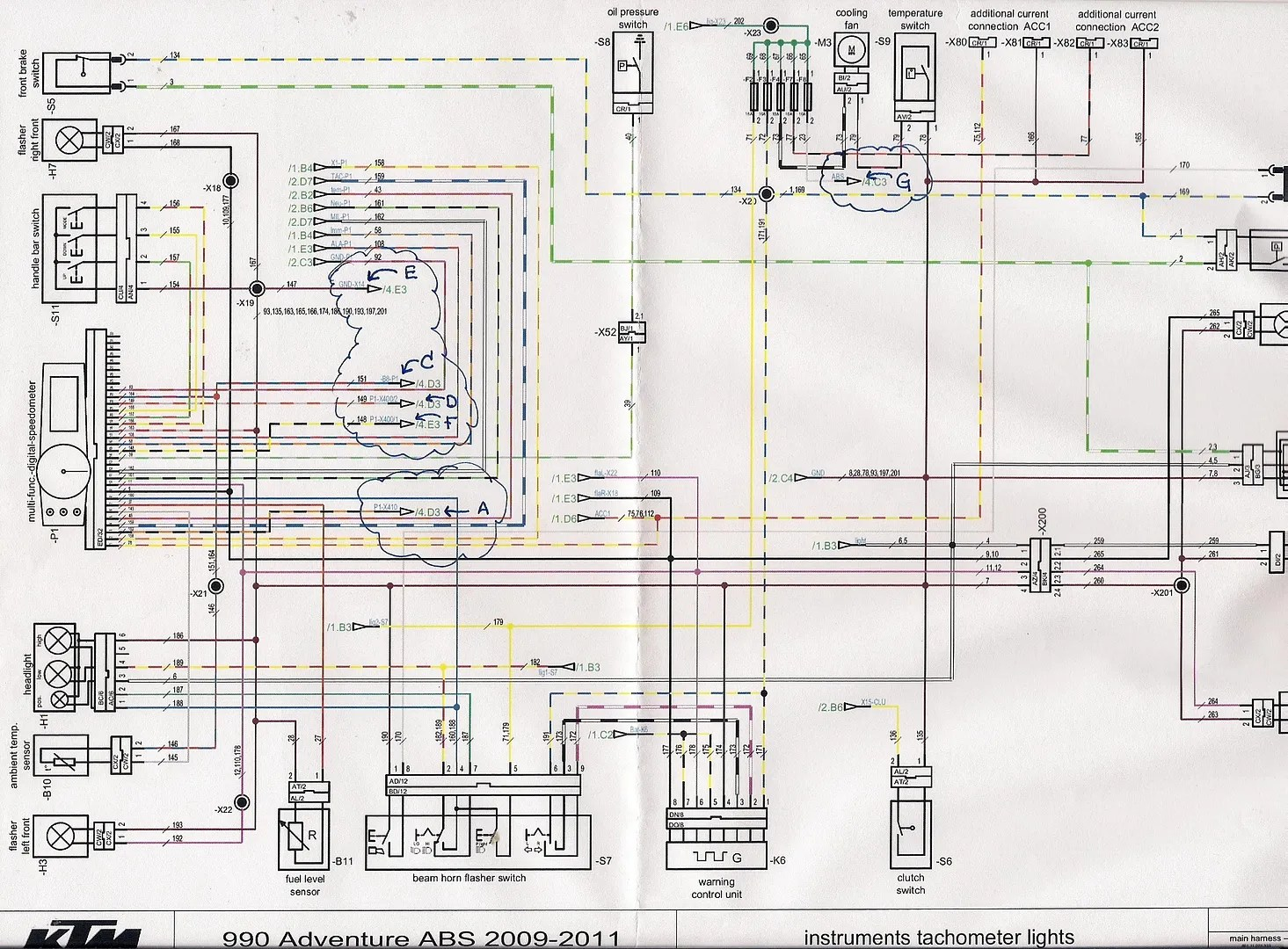 Ktm Wiring Diagrams Wiring Diagram