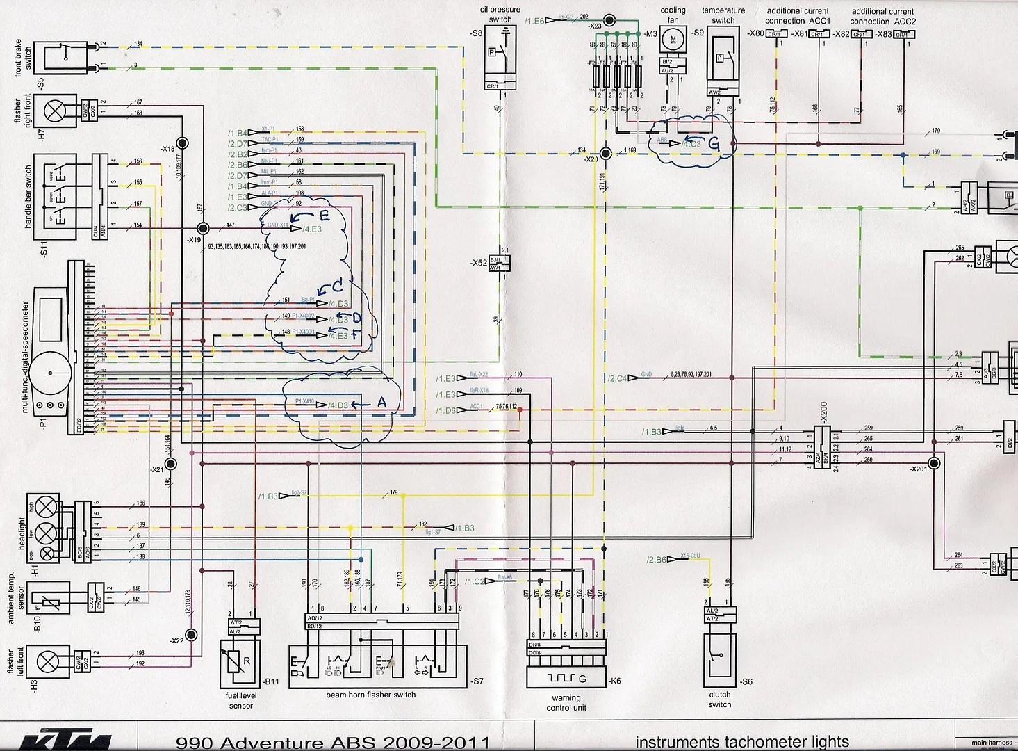 Ktm Speedometer Wiring Diagram Wiring Schematic Diagram