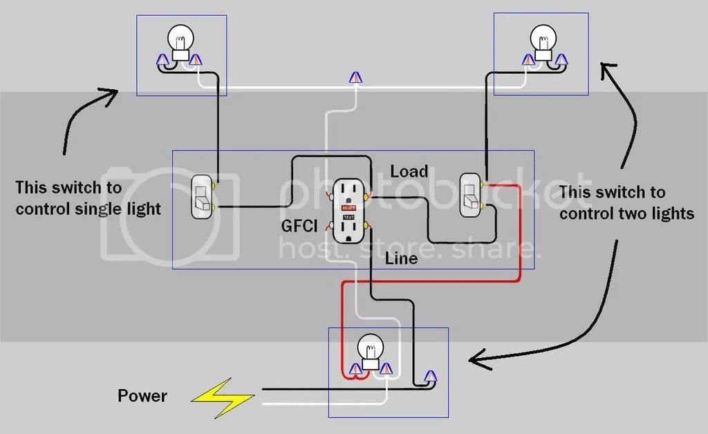 Gfci Light Switch And Electrical Wiring Diagram - 6jheemmvv