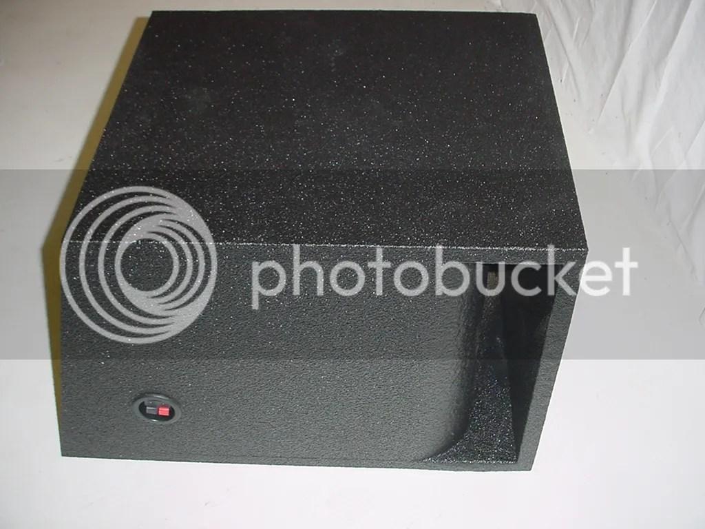 Single 153939 Horn Ported Pro Poly Subwoofer Box Sub Box