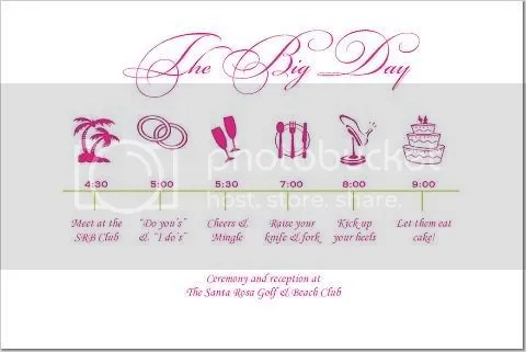 Destination Wedding Itinerary Template Free destination wedding