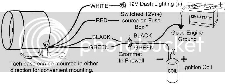 Aftermarket Tach Wiring Wiring Diagram 2019