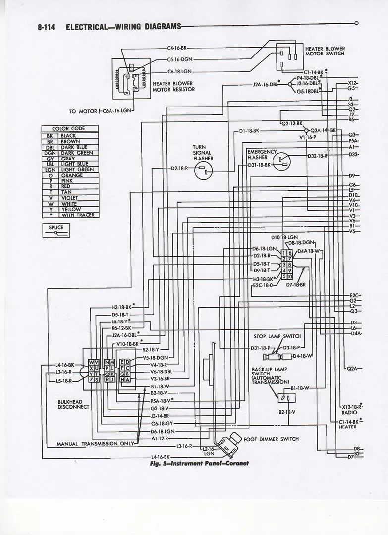 engine wiring diagram 1968 buick skylark